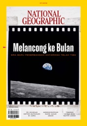 Cover Majalah NATIONAL GEOGRAPHIC ID ED 07 Juli 2019