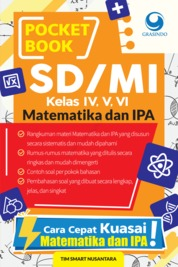 Cover Pocket Book SD Matematika dan IPA oleh Tim Smart Nusantara