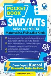 Cover Pocket Book SMP Matematika , Fisika , dan Kimia oleh Tim Smart Nusantara
