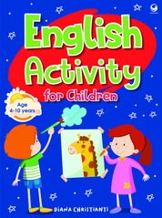 English Activity for Children by Diana Christianti Cover