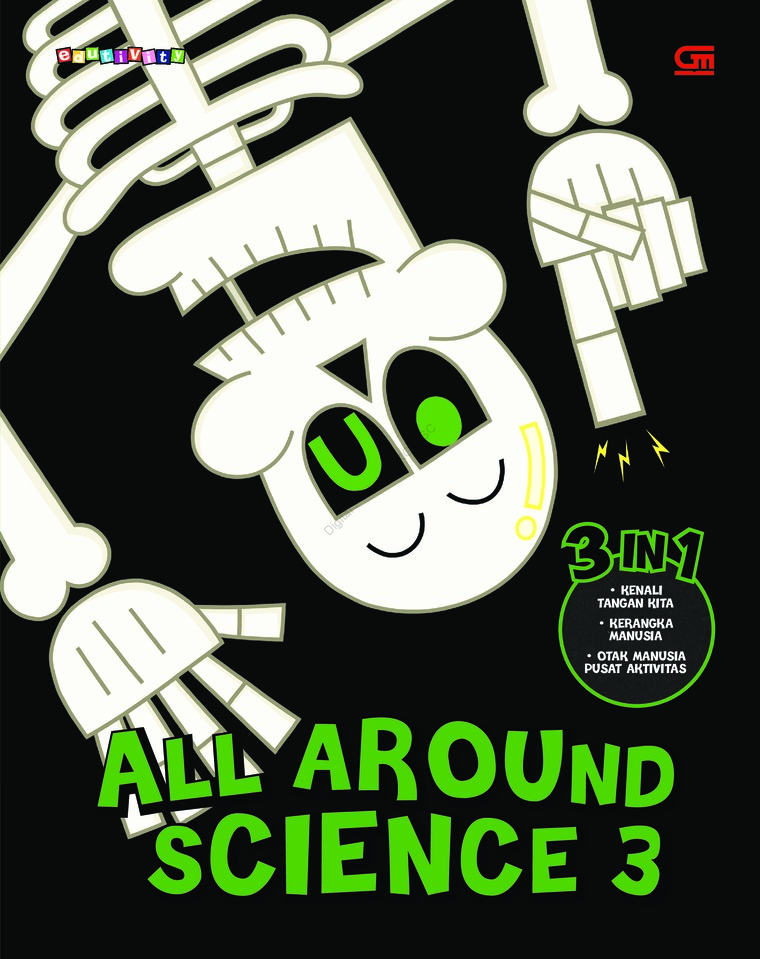 Buku Digital All Around Science#3 (Let's Explore Our Hands; Boo I am Skeleton; Brain Does Everything) oleh Woongjin Think Big Co. Ltd