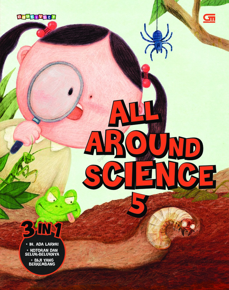 All Around Science#5 (Urgh! Catepillars!; Who Eats Poops; Is It a Manure or a Seed) by Woongjin Think Big Co. Ltd Digital Book