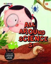 Cover All Around Science#5 (Urgh! Catepillars!; Who Eats Poops; Is It a Manure or a Seed) oleh Woongjin Think Big Co. Ltd