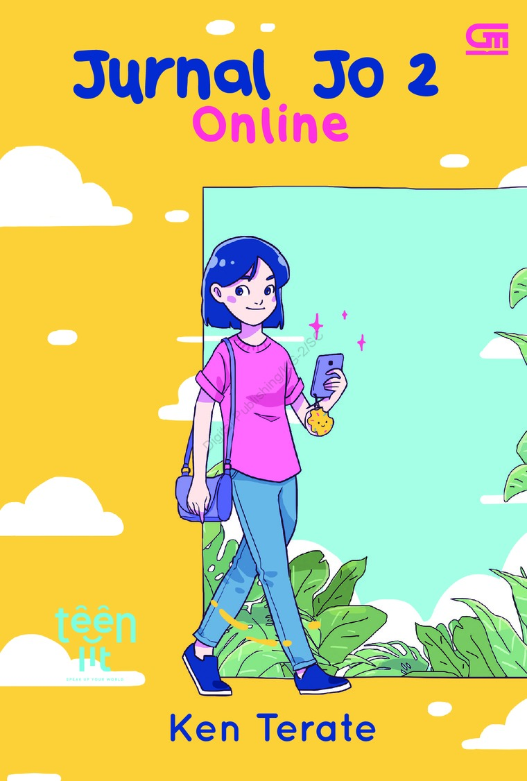 Buku Digital TeenLit: Jurnal Jo#2: Online oleh Ken Terate