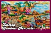 Cover Sketsa Gambar Bercerita oleh TRISNA AMBAR WATI ( Trisna Abra Abra )