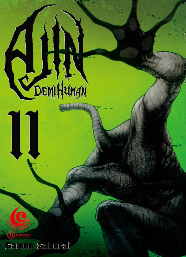 LC: Ajin - Demi Human 11 by Gamon Sakurai Digital Book