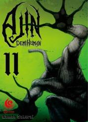 Cover LC: Ajin - Demi Human 11 oleh Gamon Sakurai
