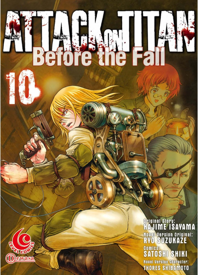 LC: Attack on Titan Before The Fall #10 by Hajime Isayama Digital Book