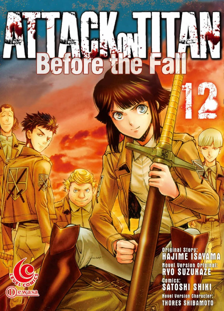 LC: Attack on Titan Before The Fall #12 by Hajime Isayama Digital Book