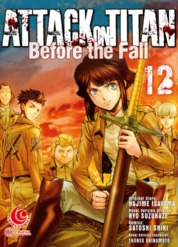 LC: Attack on Titan Before The Fall #12 by Hajime Isayama Cover