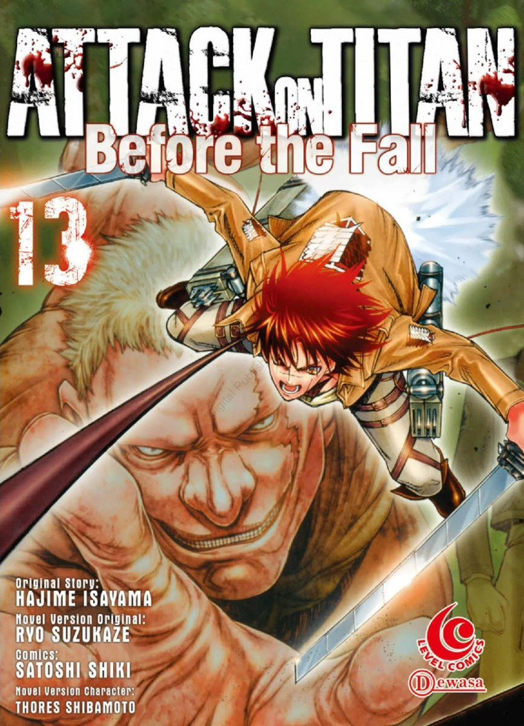 LC: Attack on Titan Before The Fall #13 by Hajime Isayama Digital Book