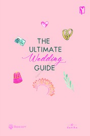 Cover The Ultimate Wedding Guide oleh Caroline Muliawan