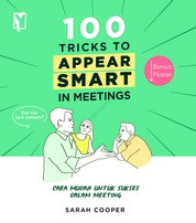 100 Tricks to Appear Smart by Sarah Cooper Cover