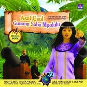 Cover Seri Dongeng 3D Nusantara: Asal Usul Gunung Saba Mpolulu oleh Lilis Hu