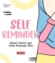 Cover Self Reminder: Sebuah Catatan agar Selalu Mengingat Allah oleh @siifara