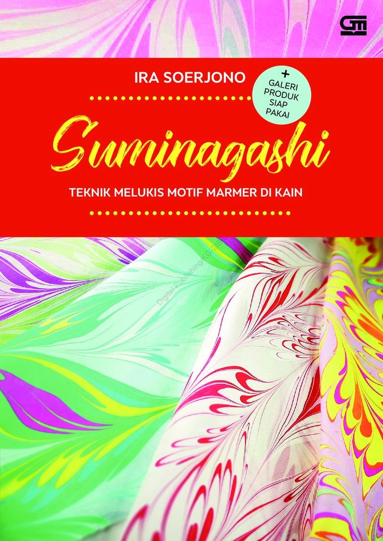 Buku Digital Suminagashi: Teknik Melukis Motif Marmer di kain + galeri produk siap pakai oleh Ira Soerjono