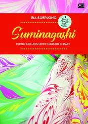 Cover Suminagashi: Teknik Melukis Motif Marmer di kain + galeri produk siap pakai oleh Ira Soerjono