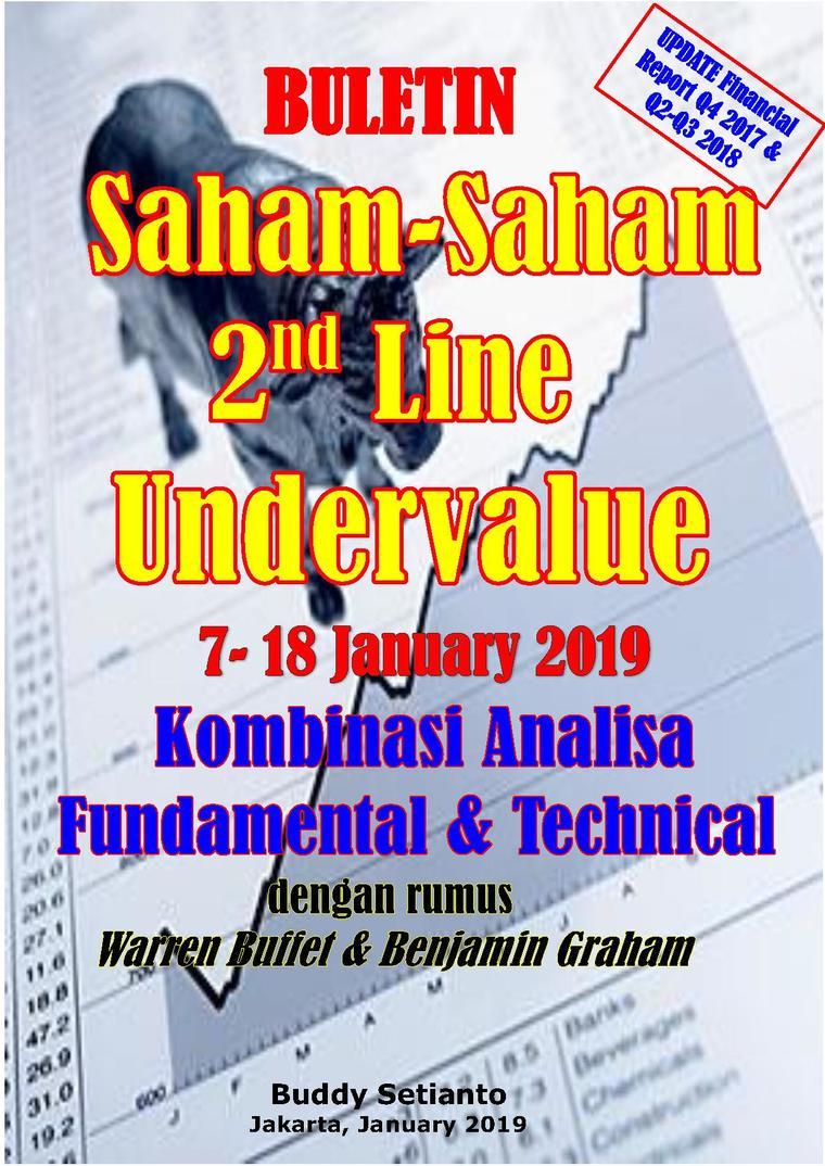 Buku Digital Buletin Saham-Saham 2nd Line Undervalue 07-18 JAN 2019 - Kombinasi Fundamental & Technical Analysis oleh Buddy Setianto