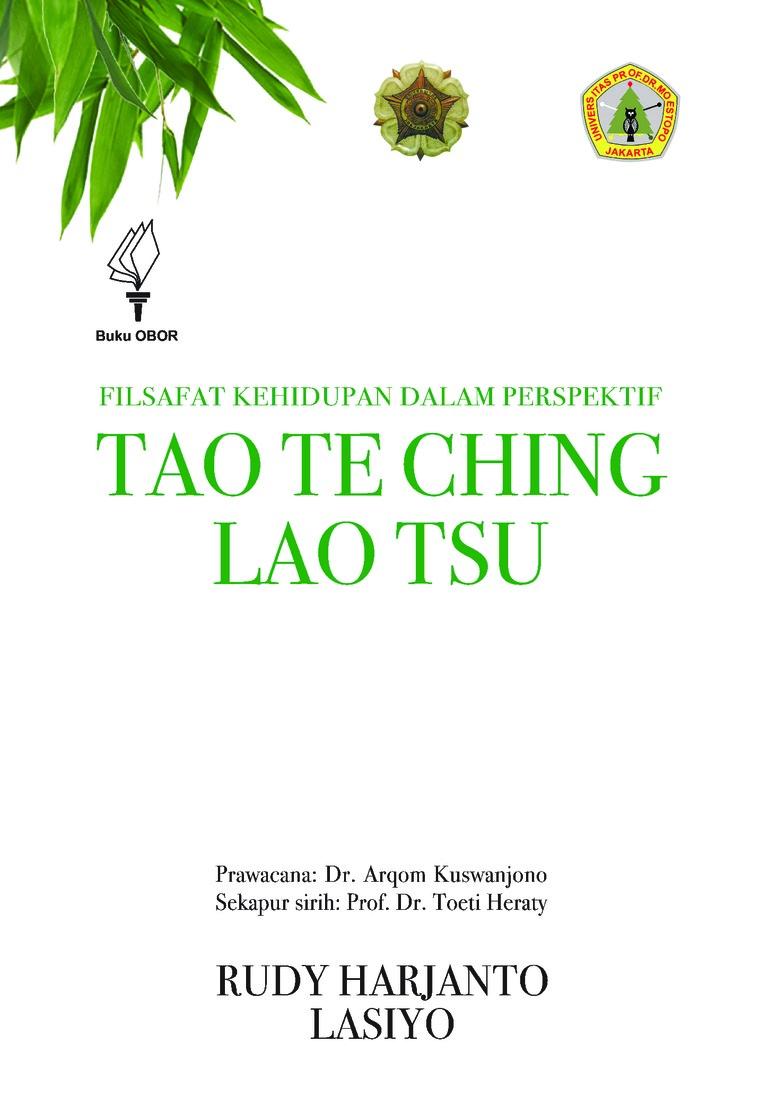 Buku Digital Filsafat Kehidupan dalam Perspektif Tao Te Ching Lao Tsu oleh Rudy Harjanto dan Lasiyo