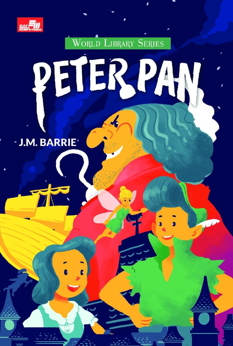 Peter Pan by J.M. Barrie Digital Book