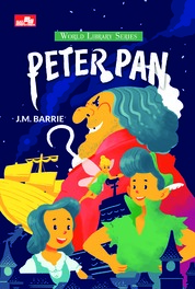 Cover Peter Pan oleh J.M. Barrie