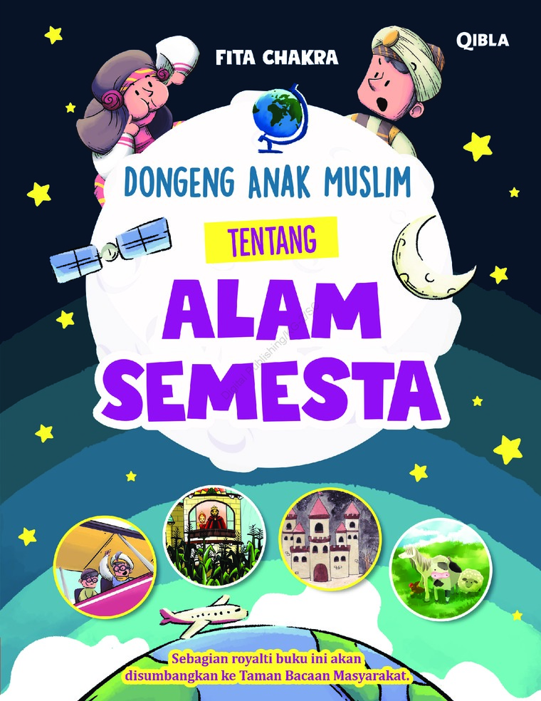 Buku Digital Dongeng Anak Muslim Tentang Alam Semesta oleh Fita Chakra