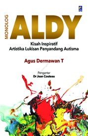 Monolog Aldy by Agus Dermawan T. Cover