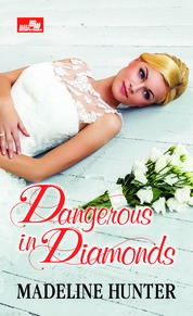 Cover HR: Dangerous in Diamonds oleh Madeline Hunter