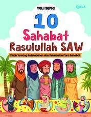 Cover 10 Sahabat Rasulullah SAW oleh Yoli Hemdi
