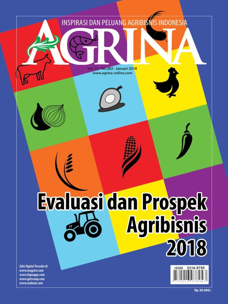 Majalah Digital Agrina ED 283 Januari 2018