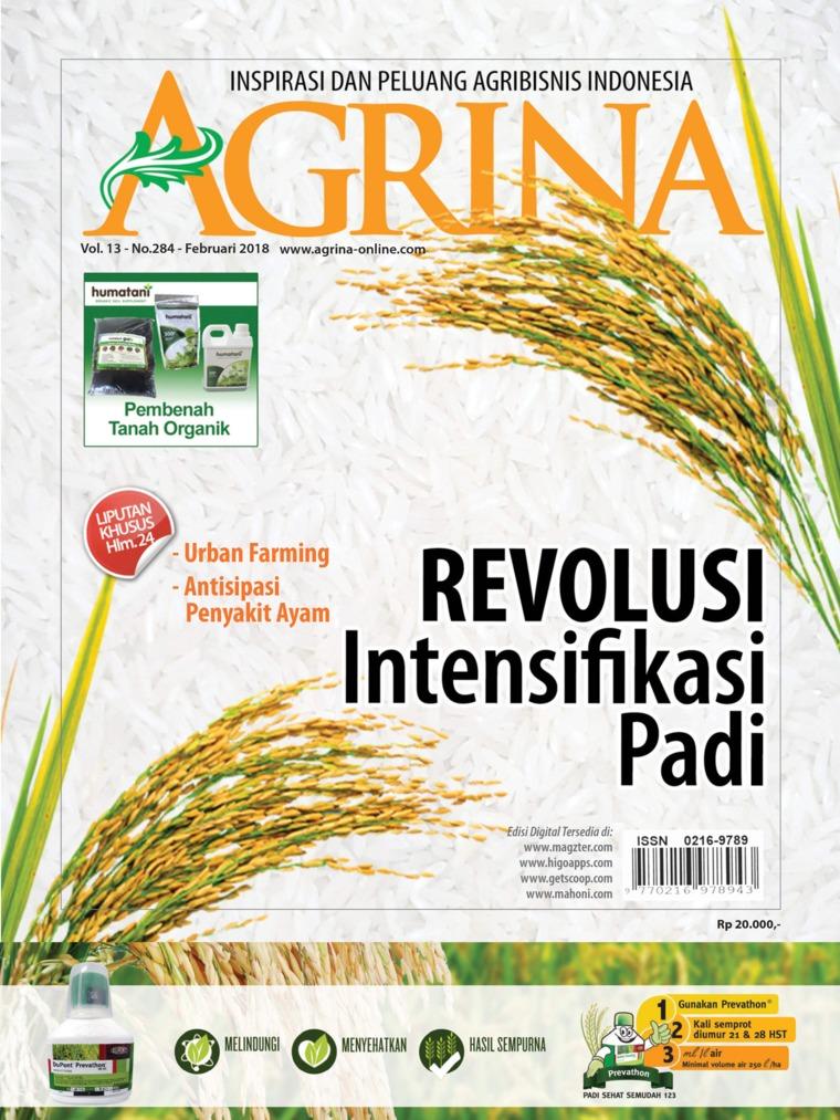Majalah Digital Agrina ED 284 Februari 2018