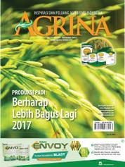 Cover Majalah Agrina ED 269 November 2016