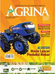 Cover Majalah Agrina ED 282 Desember 2017