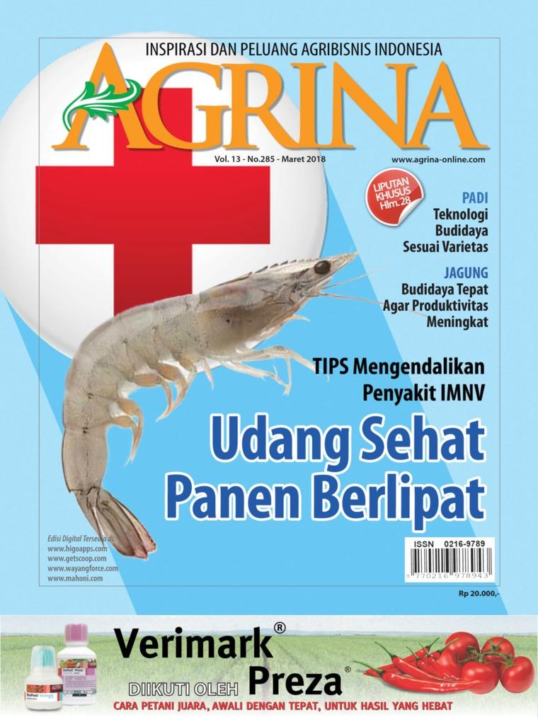 Majalah Digital Agrina ED 285 Maret 2018