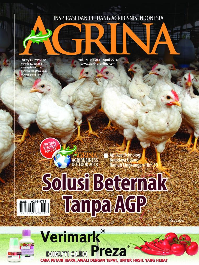 Majalah Digital Agrina ED 286 April 2018