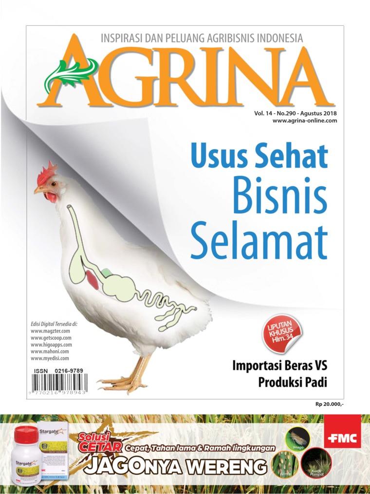 Majalah Digital Agrina ED 290 Agustus 2018