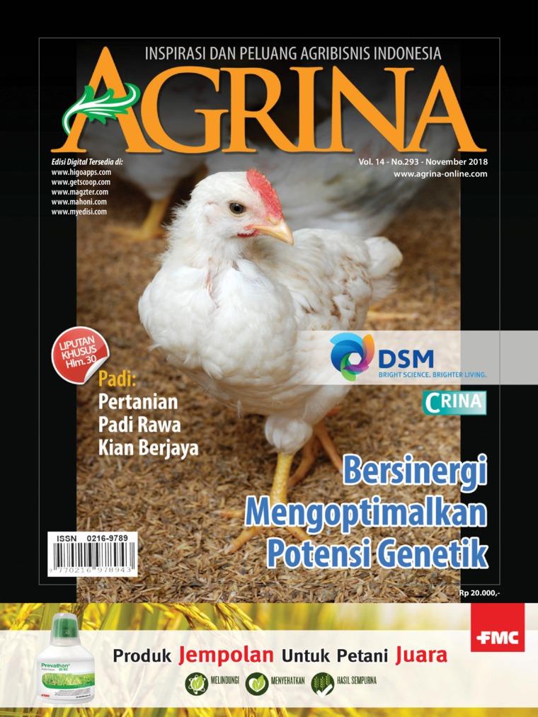 Majalah Digital Agrina ED 293 November 2018