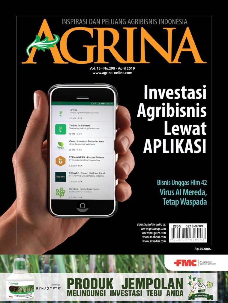 Agrina Digital Magazine ED 298 April 2019