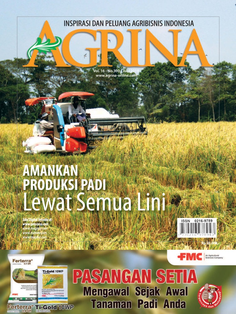 Majalah Digital Agrina ED 300 Juni 2019