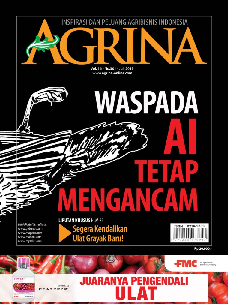 Majalah Digital Agrina ED 301 Juli 2019