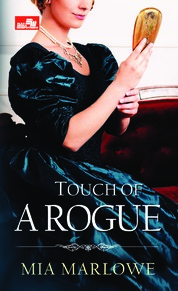 Cover HR: Touch of a Rogue oleh Mia Marlowe