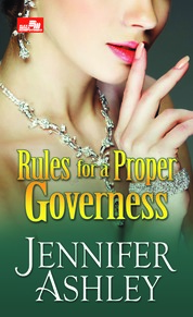 HR: Rules for a Proper Governess by Jennifer Ashley Cover