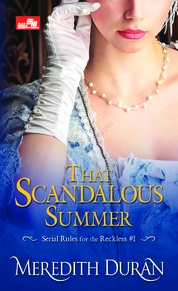 HR: That Scandalous Summer by Meredith Duran Cover