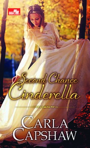 HR: Second Chance Cinderella by Carla Capshaw Cover