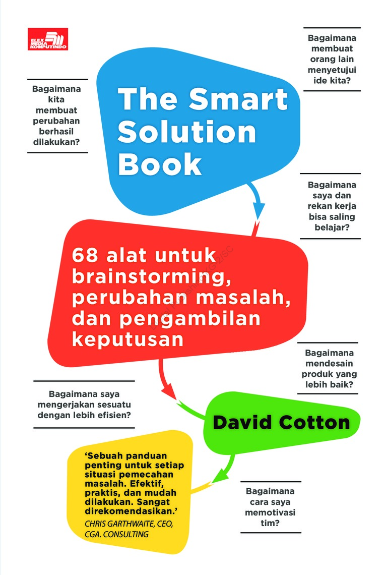 Buku Digital The Smart Solution Book: 68 Tools for Brainstorming, Problem Solving, and Decision Making oleh David Cotton