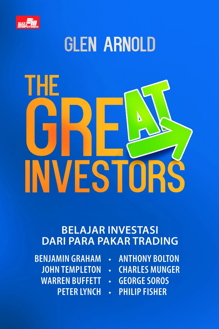 The Great Investors (2018) by Glen Arnold Digital Book