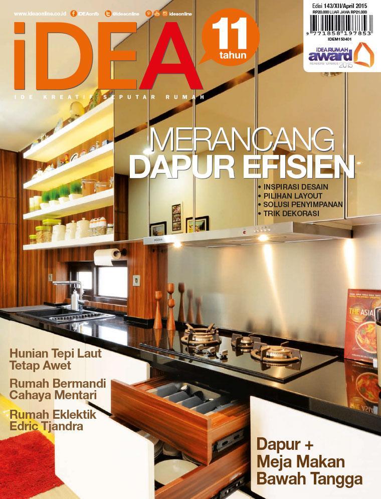 Jual Majalah Idea Ed 143 2017