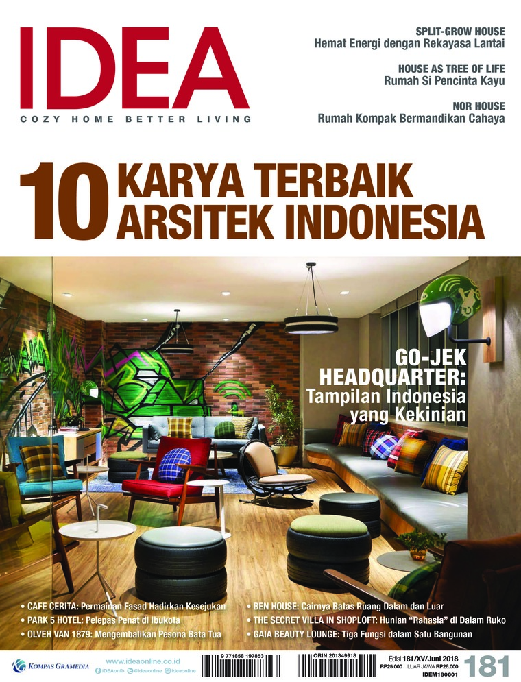 Majalah Digital iDEA ED 181 Juni 2018