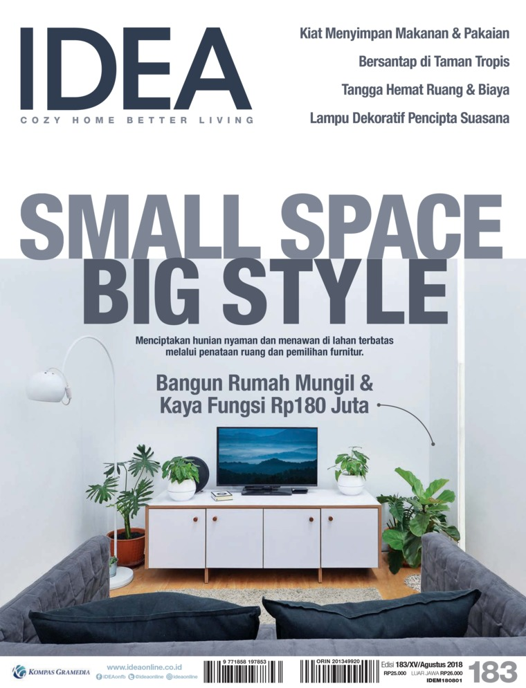 Majalah Digital iDEA ED 183 Agustus 2018