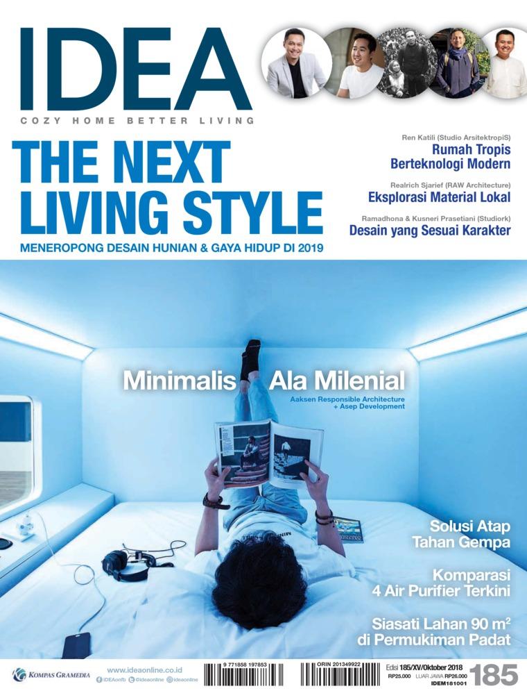 Majalah Digital iDEA ED 185 Oktober 2018